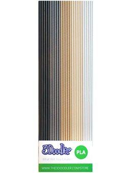 Набір Стрижнів Для Проф. 3D-Ручки 3Doodler Create - Хакі [PL-MIX7]