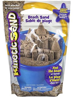 Песок для детского творчества - KINETIC SAND BEACH (натуральный цвет) [71435]