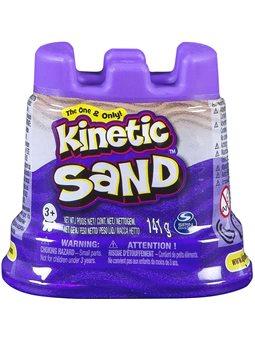 Песок Для Детского Творчества - Kinetic Sand Мини Крепость (Фиолетовый) [71419P]