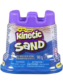 Песок Для Детского Творчества - Kinetic Sand Мини Крепость (Голубой) [71419B]