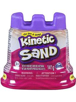 Песок для детского творчества - KINETIC SAND МИНИ КРЕПОСТЬ (розовый) [71419Pn]