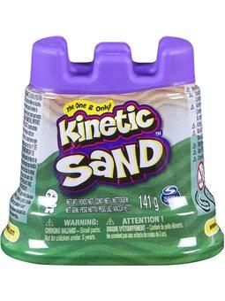 Песок Для Детского Творчества - Kinetic Sand Мини Крепость (Зеленый) [71419G]