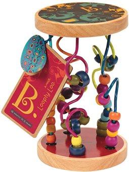 Развивающая Деревянная Игрушка - Разноцветный Лабиринт [BX1155]