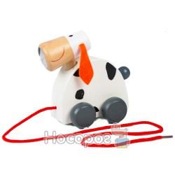 Деревянная игрушка Каталка MD 0537/7500 на веревке (36)