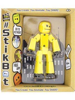Фигурка Для Анимационного Творчества Stikbot S2 (Желтый) [TST616IIY]