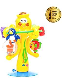 Іграшка на присоску - Музичний восьминіг [38190]