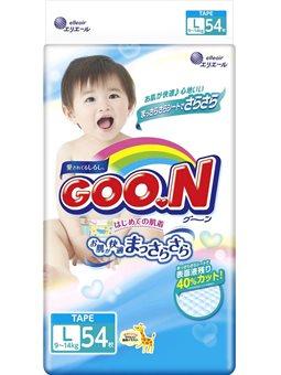 Підгузки GOO.N для дітей (L, 9-14 кг) [853076]