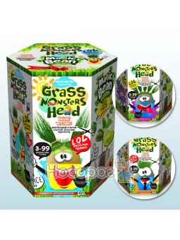 Набор креативного творчества GRASS MONSTER HEAD GMH-01-01U/ДТ-OO-09150