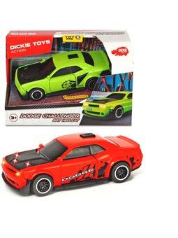 3752009 Скоростной автомобиль «Додж Челленджер», со звук. и свет. эффектами, 15 см, 3