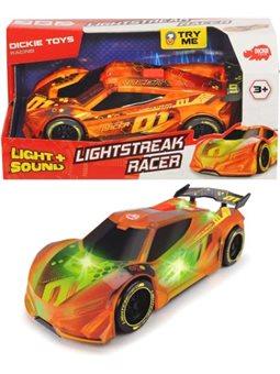 3763002 Швидкісний автомобіль «Сполохи світла. Рейсер» зі зміною кольору, звук. та світл. ефектами, 20 см, 3