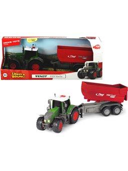 3737002 Трактор «Фендт 939 Варио» с прицепом, со звук. и свет. эффектами, 41 см, 3