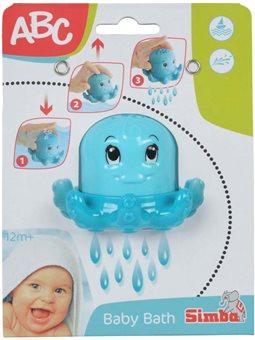 4010023 Игрушка для ванны Осьминог, 10 см, 12 мес. +