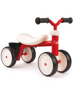 721400 Дитячий металевий біговел чотирьох колісний, червоний, 12 міс. +