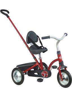 740800 Дитячий металевий велосипед з Зукі багажником, червоний, 16 міс.+