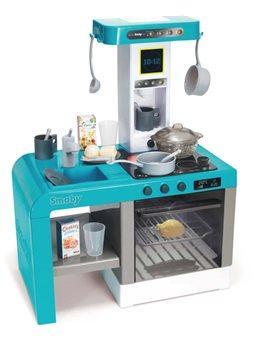 """311409 Інтерактивна кухня """" Шеф"""" з ефектом кипіння, зі звук. та світл. ефект., з аксес., блакитна, 3+"""