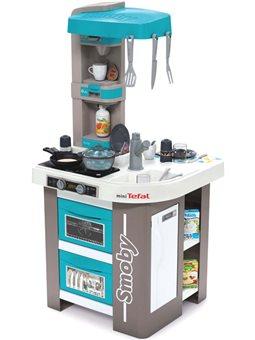 """311043 Інтерактивна кухня """"Тефаль. Студіо Френч"""" з аксесуарами, ефектом кипіння та звуками, блакитна, 3+"""