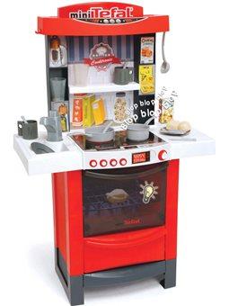 """311501 Інтерактивна кухня """"Тефаль Майстер-Шеф"""" з аксес., зі звук. та світл. ефект., червона , 3+"""
