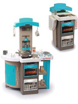 """312201 Інтерактивна кухня """"Тефаль Кухар"""", що розкладається, з ефект. кипіння, з аксес., блакитна, 3+"""