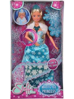 """573 3287 Лялька Штеффі """"Снігова королева"""", зі світл. еф., та сяючими елементами, 3+"""