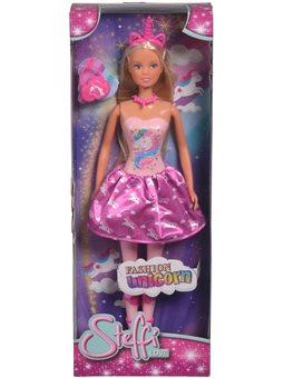 5733320 Лялька Штеффі в костюмі єдинорога з аксес.,3+