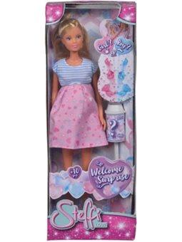5733388 Лялька Штеффі-вагітна «Сюрприз» з аксес.,3+