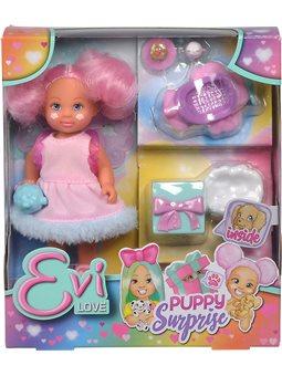 Кукольный набор Simba Эви Сюрприз со щенком и аксессуарами [5733384]