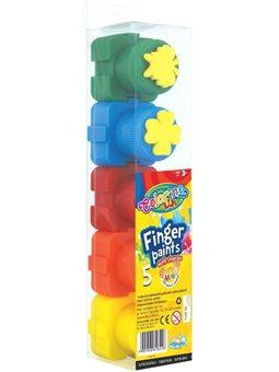 Краски пальчиковые 5 цветов