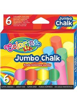 Мелки JUMBO цветные 6 цветов
