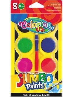 Краски Акварель Jumbo 8 цветов