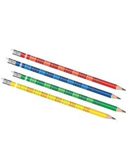 Олівці прості з табличкою множення в тубі 66143PTR (60)