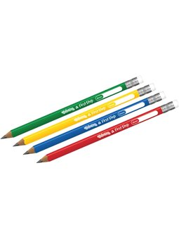 Олівці прості трикутні 2В в тубі 51910PTR (60)