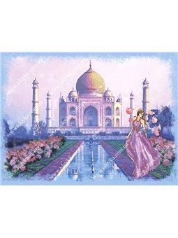 Набор для вышивки бисером - Волшебная Индия (ВБ1046)