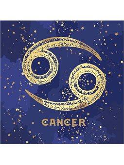 Картина по номерам - Знак зодиака Рак с краской металлик (КН9517)
