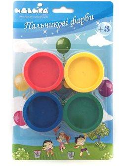 Набор пальчиковые краски 4шт по 30мл