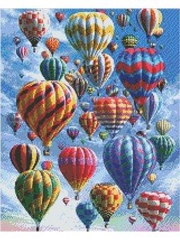 Алмазная вышивка - Воздушные шары (АМ6010)