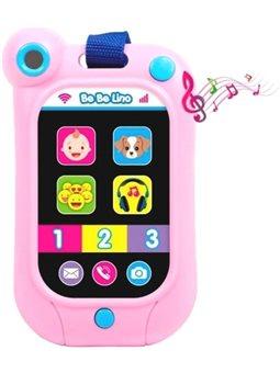 Интерактивный смартфон BeBeLino, розовый [58159]