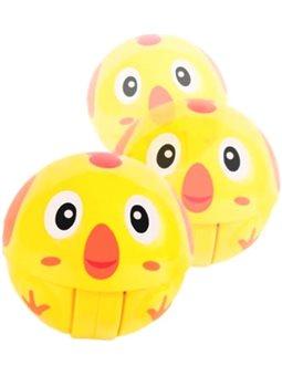 Крутящийся мячик BeBeLino Животное, желтый [58155]