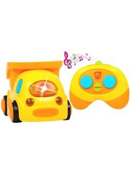 Машинка на радіоуправлінні BeBeLino Мій перший самоскид, жовтий [58157]