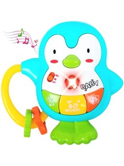 Музичний пінгвін BeBeLino, блакитний [58161]