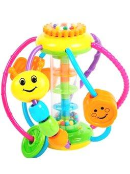 Развивающая игрушка BeBeLino Лабиринт с бусинами. Гусеница [58138]