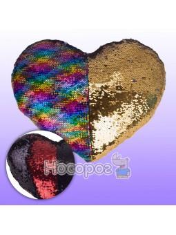 Сердце с паетками 1 00228-30