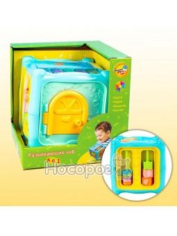 Іграшка Розвиваючий куб 6 в 1 0913-38