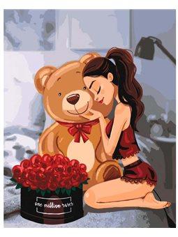 Картина по номерам One million roses КНО4606