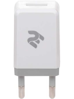 2E Сетевой ЗП USB Wall Charger USB [2E-WC1USB1A-W]