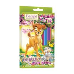 Карандаши восковые ColourLand 12 цветов 540171