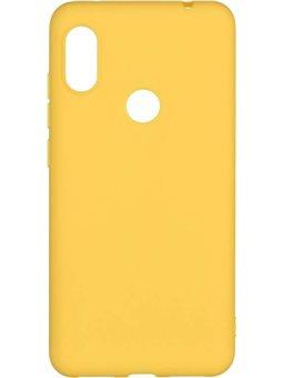 2E Basic, Soft touch для Redmi Note 6 Pro [Mustard (2E-MI-N6PR-NKST-MS)]