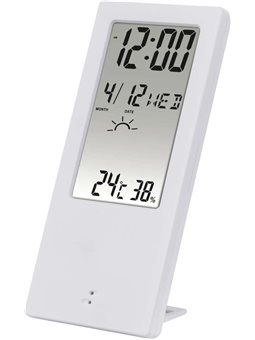 HAMA Термометр / гигрометр TH 140, с индикатором погоды [white]