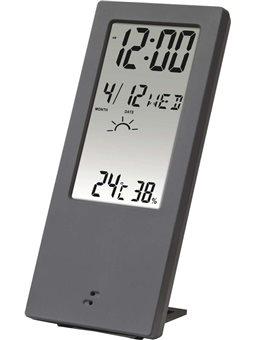 HAMA Термометр / гигрометр TH 140, с индикатором погоды [gray]