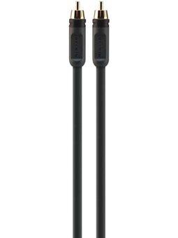 Belkin Кабель аудио коаксиальный RCA (M / M) ProAV 1000 2м, Black
