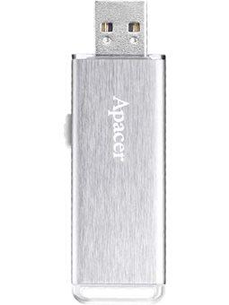 Накопитель Apacer 32GB USB 2.0 AH33A Metal Silver [AP32GAH33AS-1]